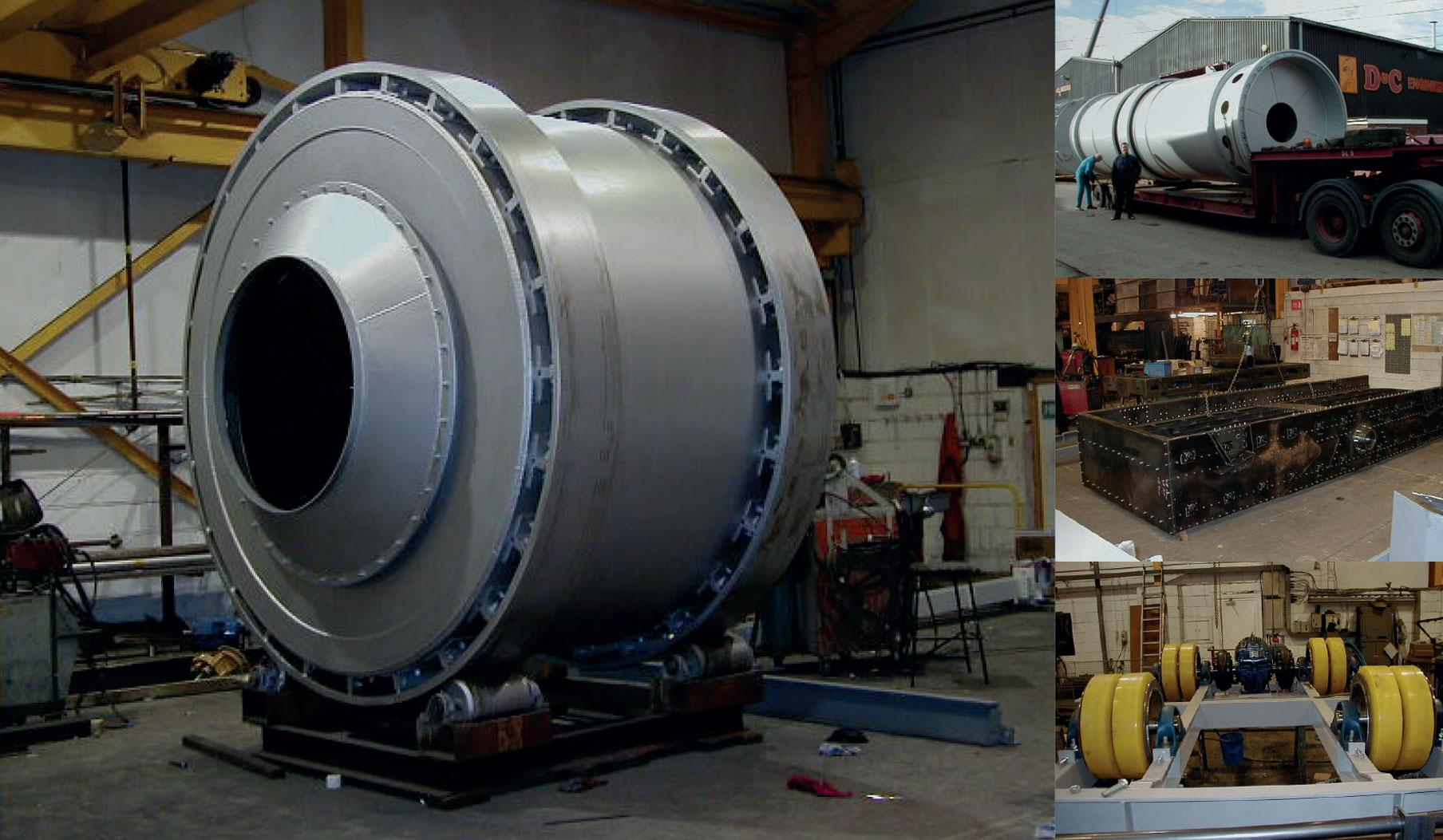 Three-ton asphalt batch heater and drive unit